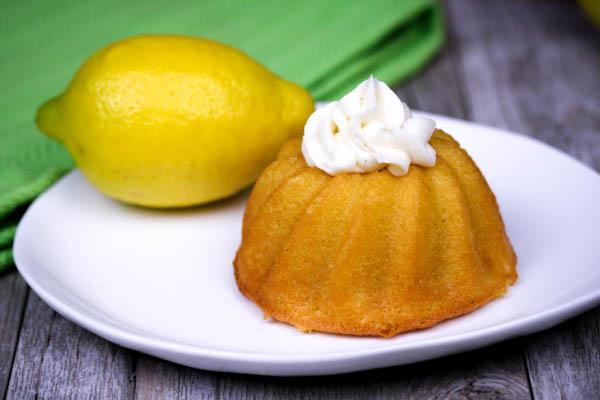 Almond Flour Mini Lemon Bundt Cakes | In The Kitchen With Honeyville