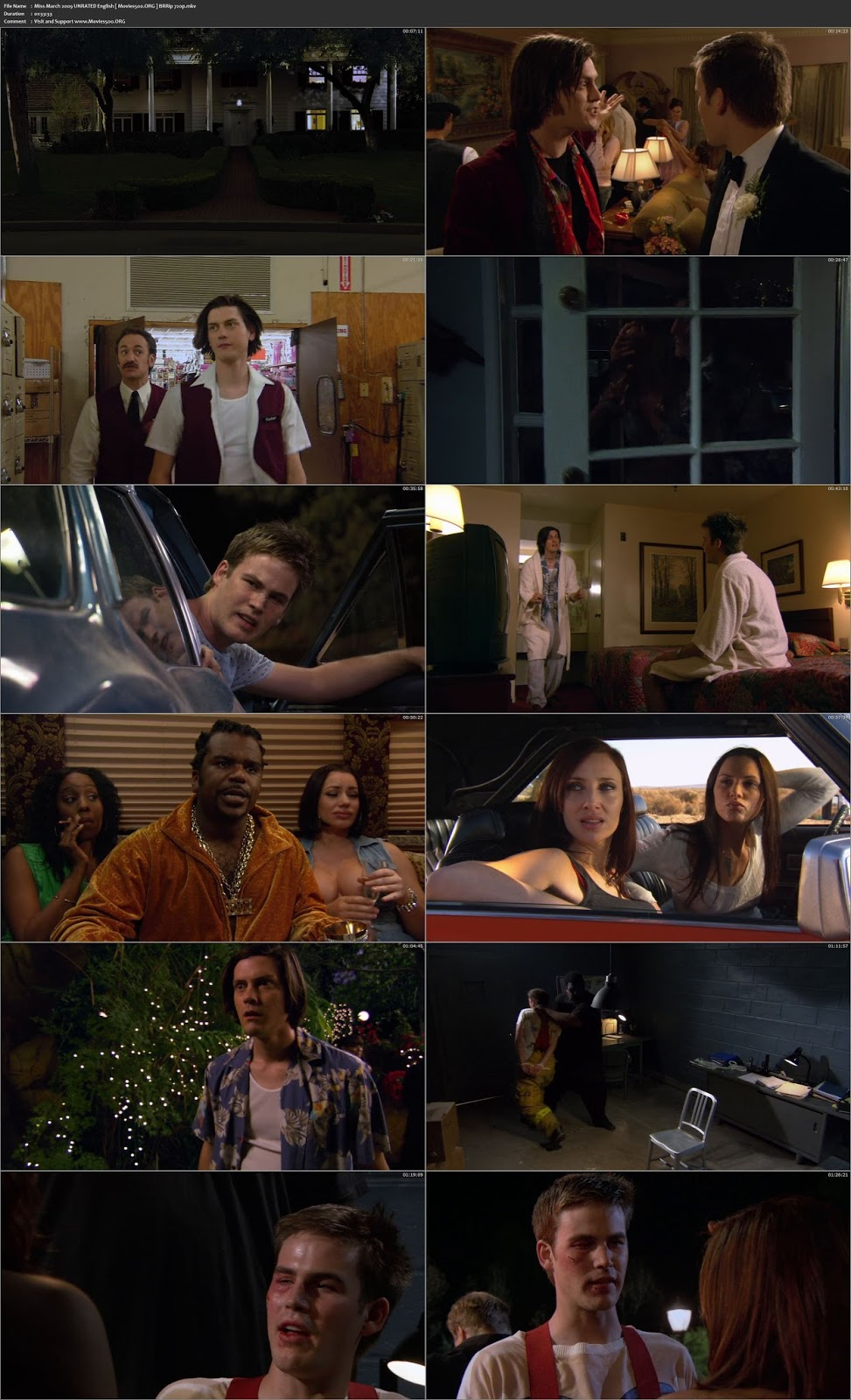 Miss March 2009 18+ 300MB Download BRRip 480p at xcharge.net