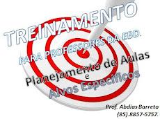 TRINAMENTO PARA PROFESSORES DA E.B.D.
