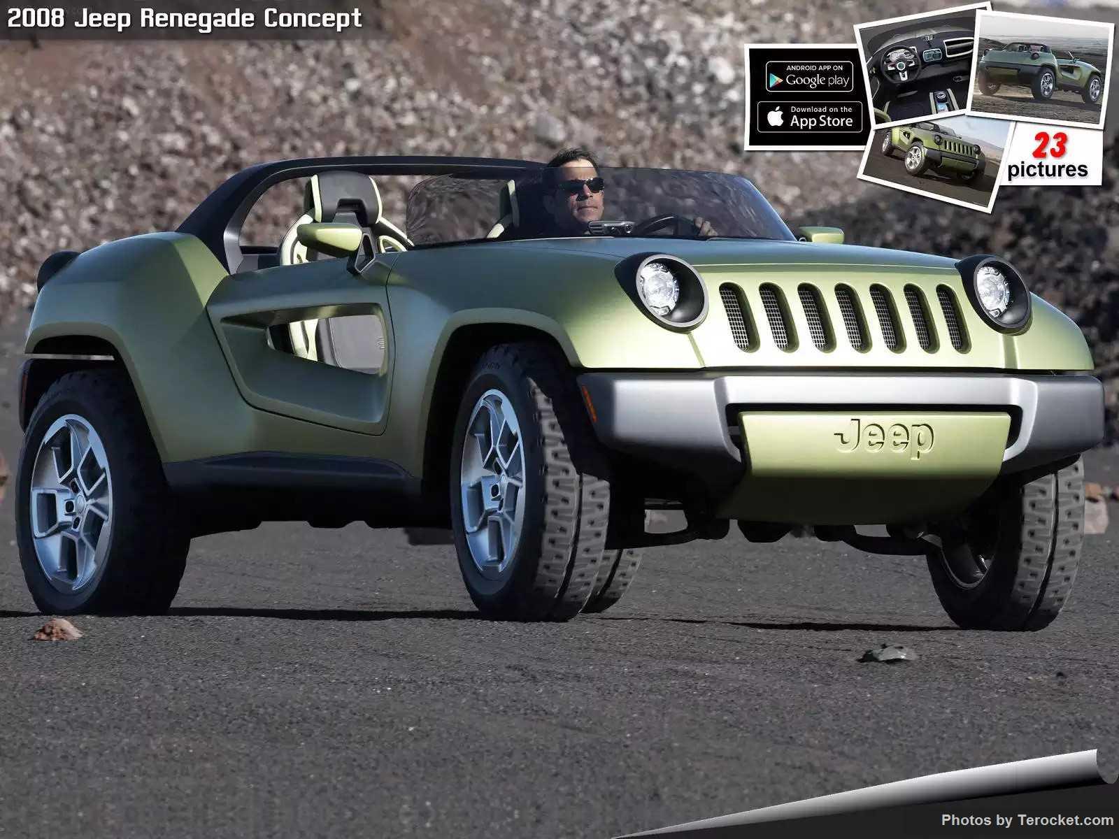 Hình ảnh xe ô tô Jeep Renegade Concept 2008 & nội ngoại thất