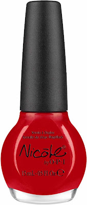Kardashian+Kolors+Kourt+is+Red y+for+a+Pedi Kardashian Kolors: Nicole by OPI's Holiday 2011 Collection