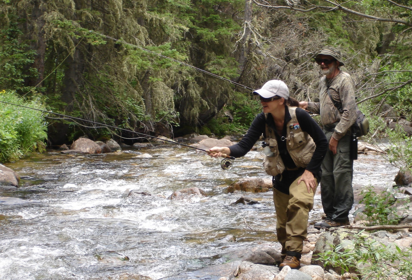 Colorado fly fishing reports small stream assault family for Colorado fly fishing report