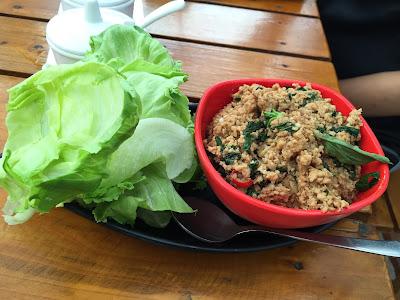 Thai Lettuce Wraps at Asian Box Pune