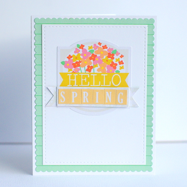 Leigh Penner Chickaniddy Crafts Hello Spring