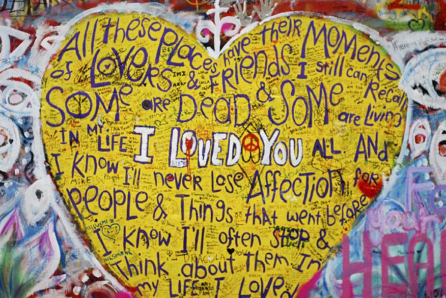 Lennon Wall - Prague | Katiecakes
