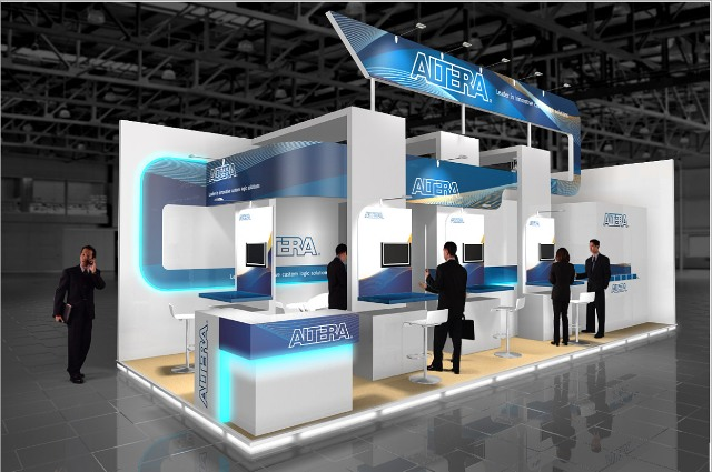 Modern Exhibition Stand By Me : Exhibition stand design news and