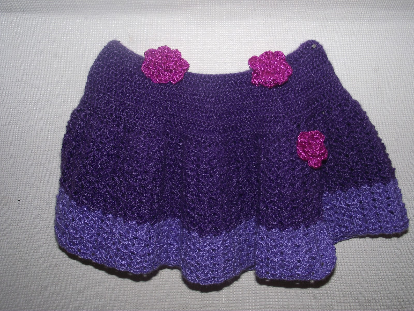 Faldas De Crochet Para Nina