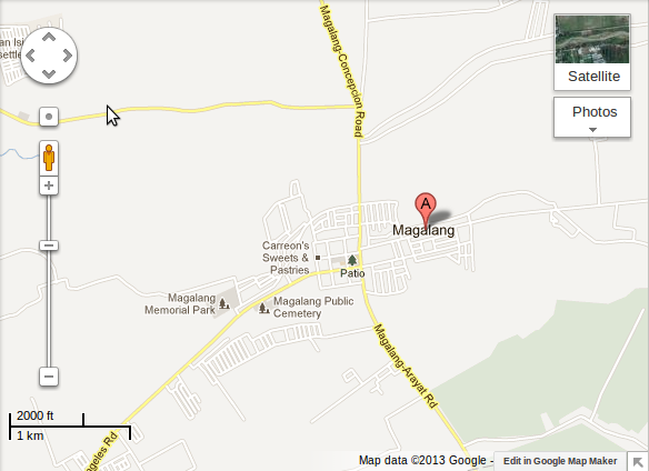Google Maps - Magalang