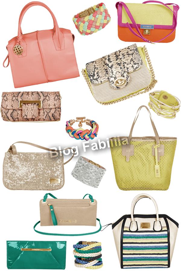 Coleção Bolsas e Acessórios DUMOND verão  2013