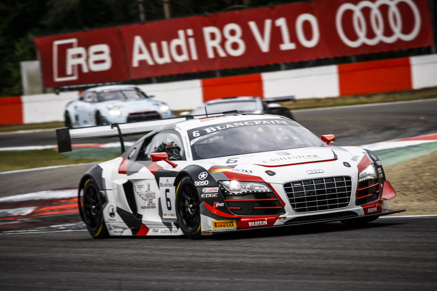 Blancpain Sprint Series Late Penalty Denies Phoenix Racing From - Audi phoenix