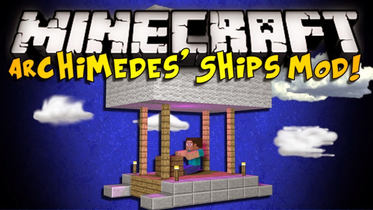 Archimede's Ships Plus Mod 1.8