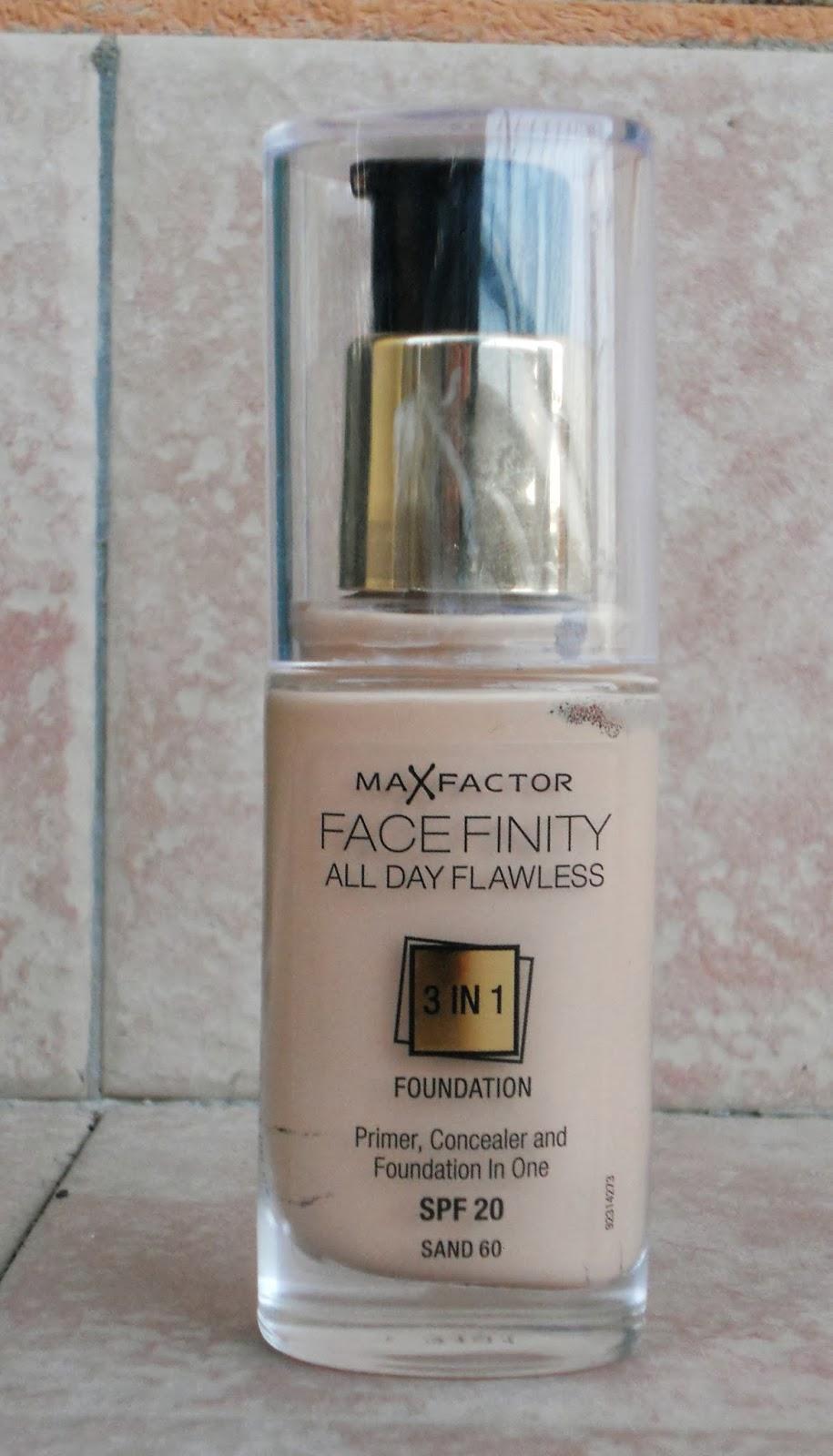 max factor fondotinta facefinity 3 in 1