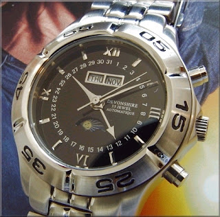 Devonshire 35 Jewel Personalized Watch