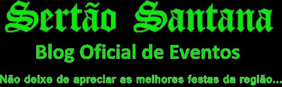 SERTÃO SANTANA oficial de eventos