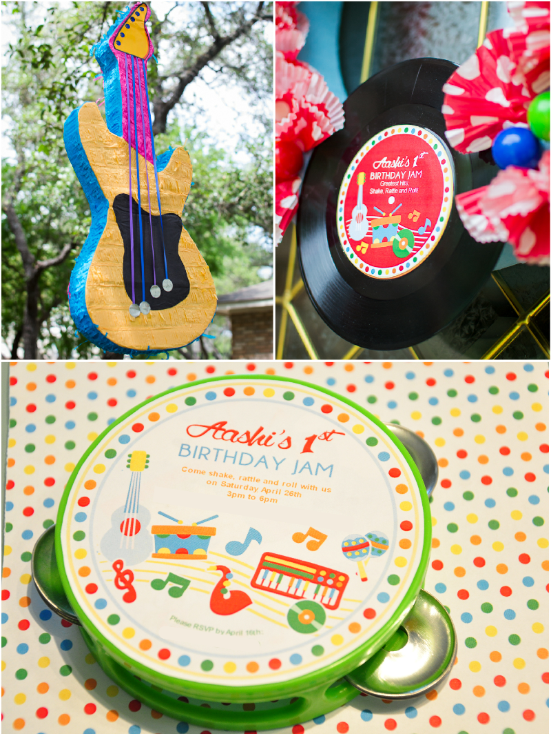A Music Inspired 1st Birthday Party Printables