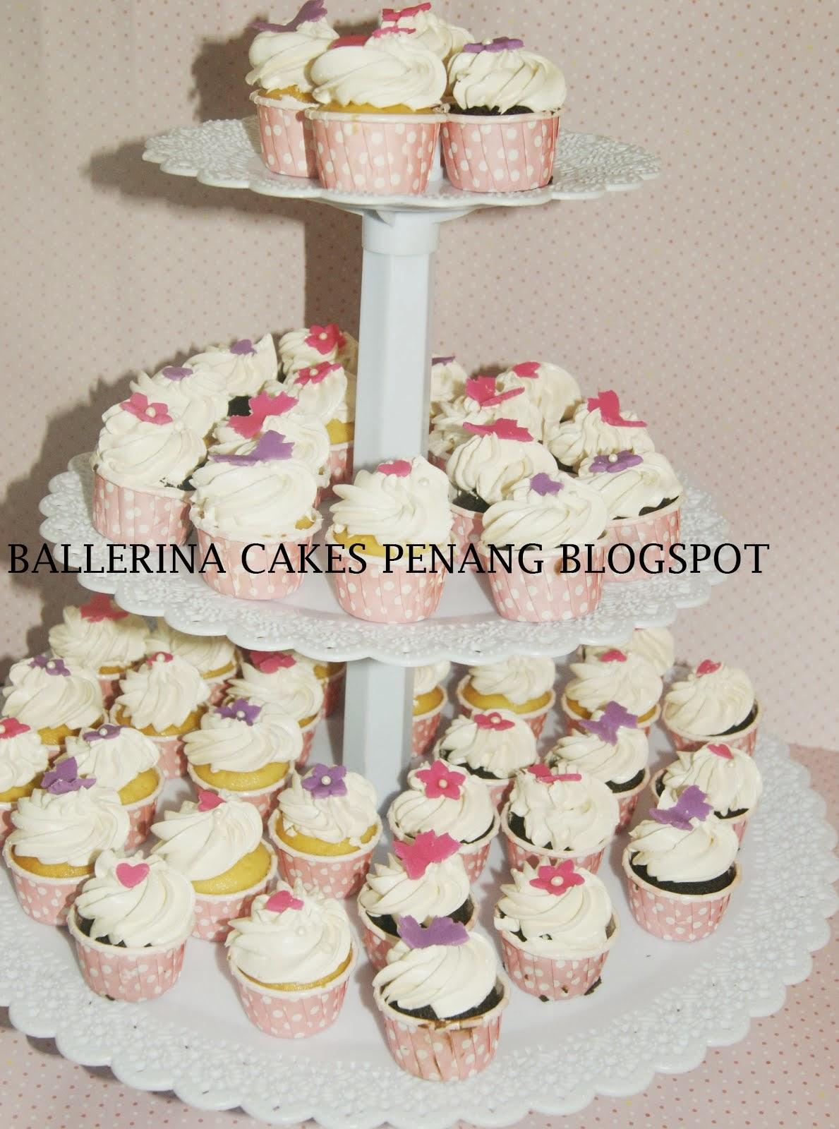 Cupcake Krimwell (icing putih)