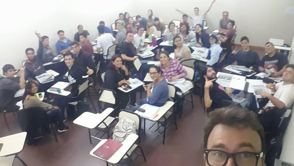 Alumnos del Ingreso 2018 en Punta Alta