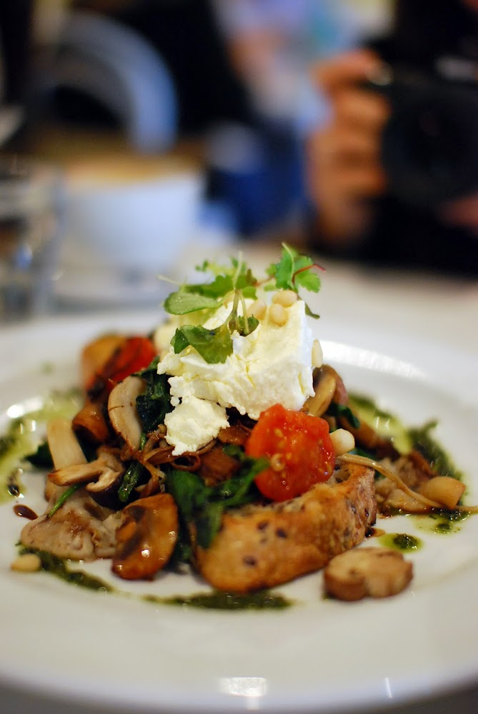 The Armchair Collective Sydney Food Blog Mushroom Bruschetta