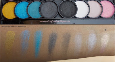 eyeshadows palette India, Nicka K New York Perfect 32 Colors Eye Shadow Palette review, Nicka K New York Perfect 32 Colors Eye Shadow Palette swatches, Nicka K New York 32 Colors Eye Shadow Palette review, Nicka K 32 Colors Eye Shadow Palette review, Nicka K Eye Shadow Palette review swatches, Nick K eyeshadow, Dusky blogger