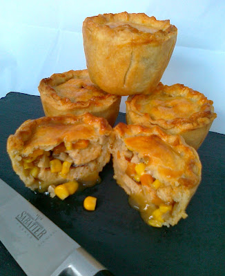 Vegetarian Pork Pie