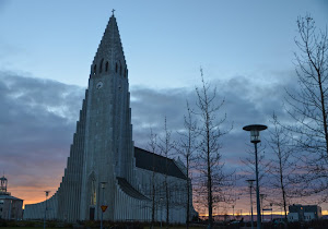 Reykjavik church - a prominent landmark