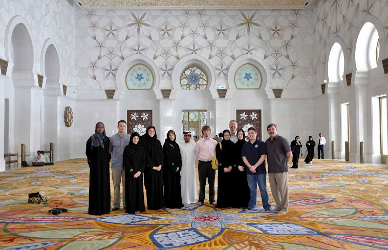 SPIA Delegation in Abu Dhabi, UAE (2011)
