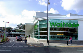 A waitrose store front artist's impression 