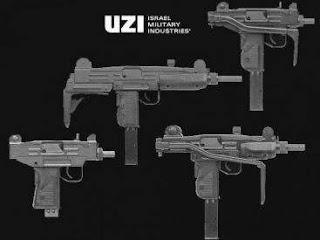 На фото: семейство пистолетов-пулемётов UZI
