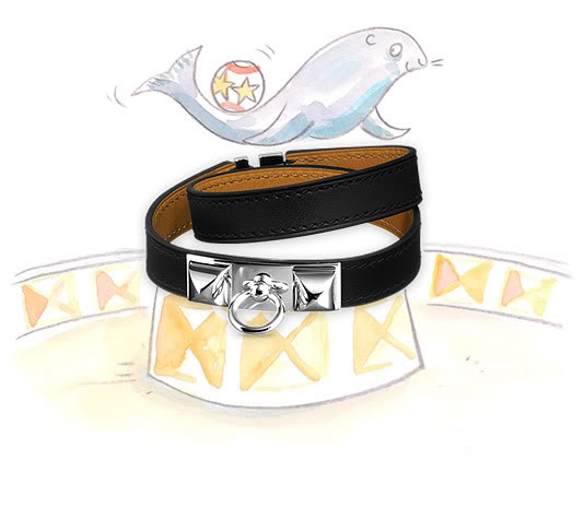 Hermes Bracelet Leather5