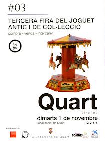 Fira del joguet a Quart