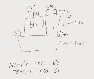 Noah's Ark by Tracey Emin