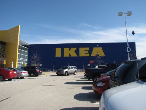 Ikea store
