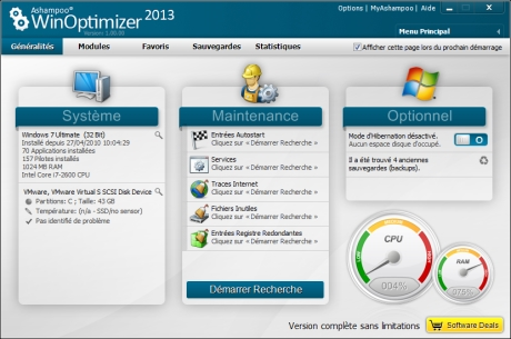 WinOptimizer free 2013