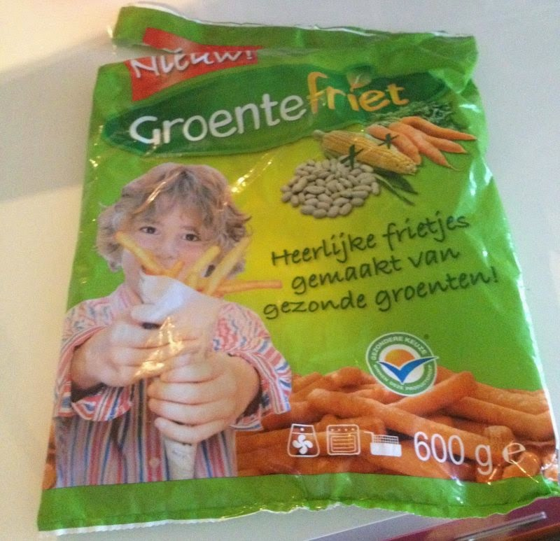 My happy kitchen test: groentefriet