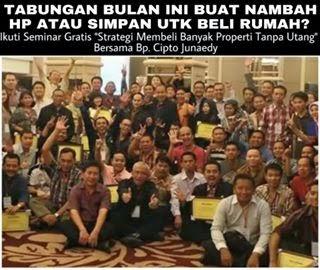 Jadwal Seminar Cipto Junaedy Terbaru April 2015