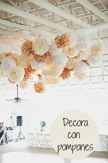 decoracion-para-bodas-pompones
