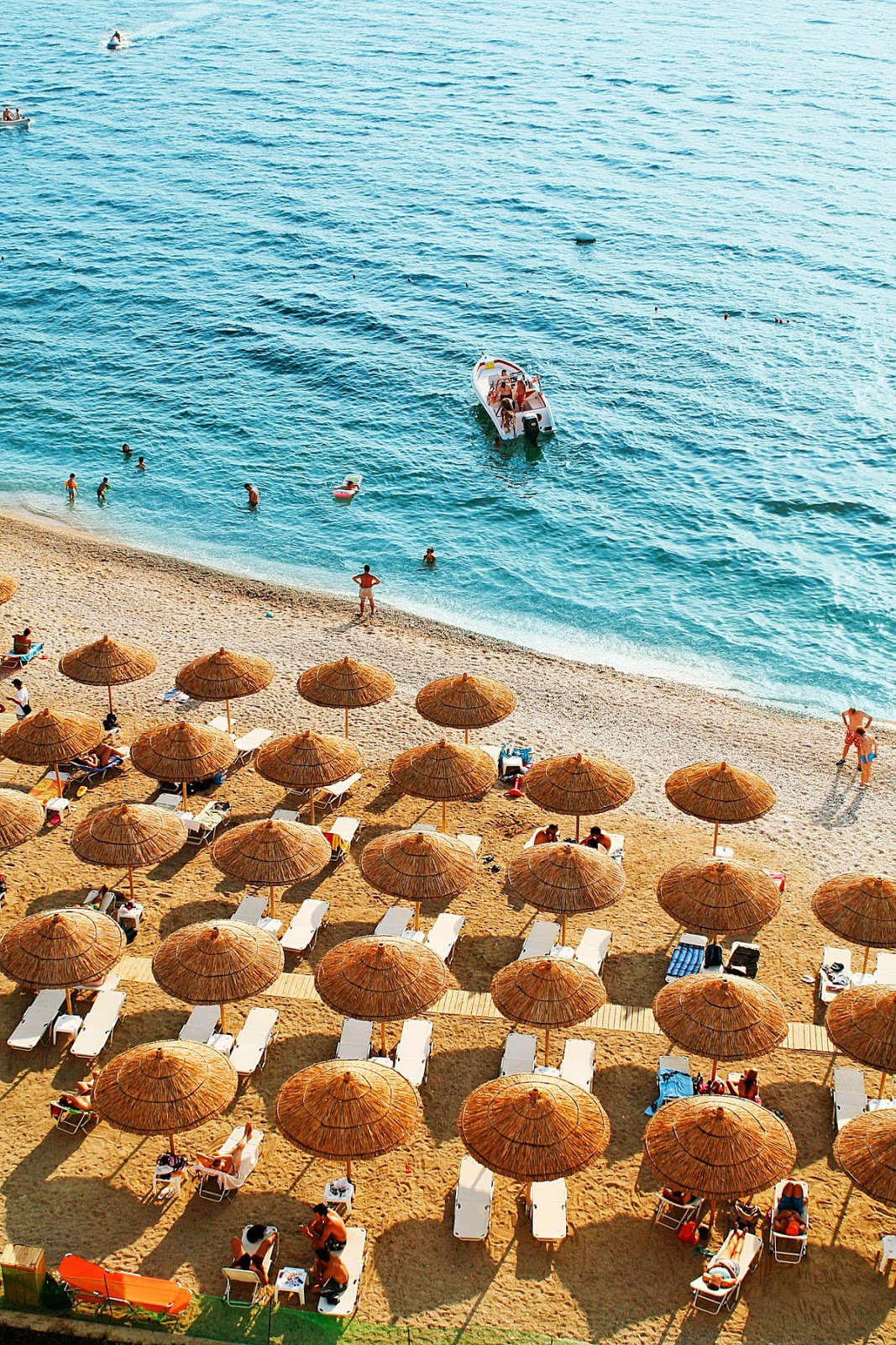 Beach in Saranda, Albania