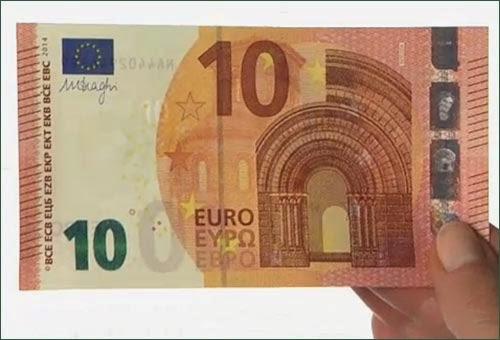 Nuove Banconote da 10 Euro come riconoscerle