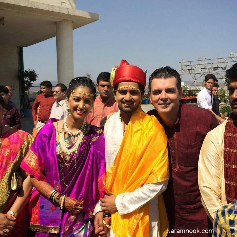 Tejashree Pradhan and Shashank Ketkar Wedding Photos
