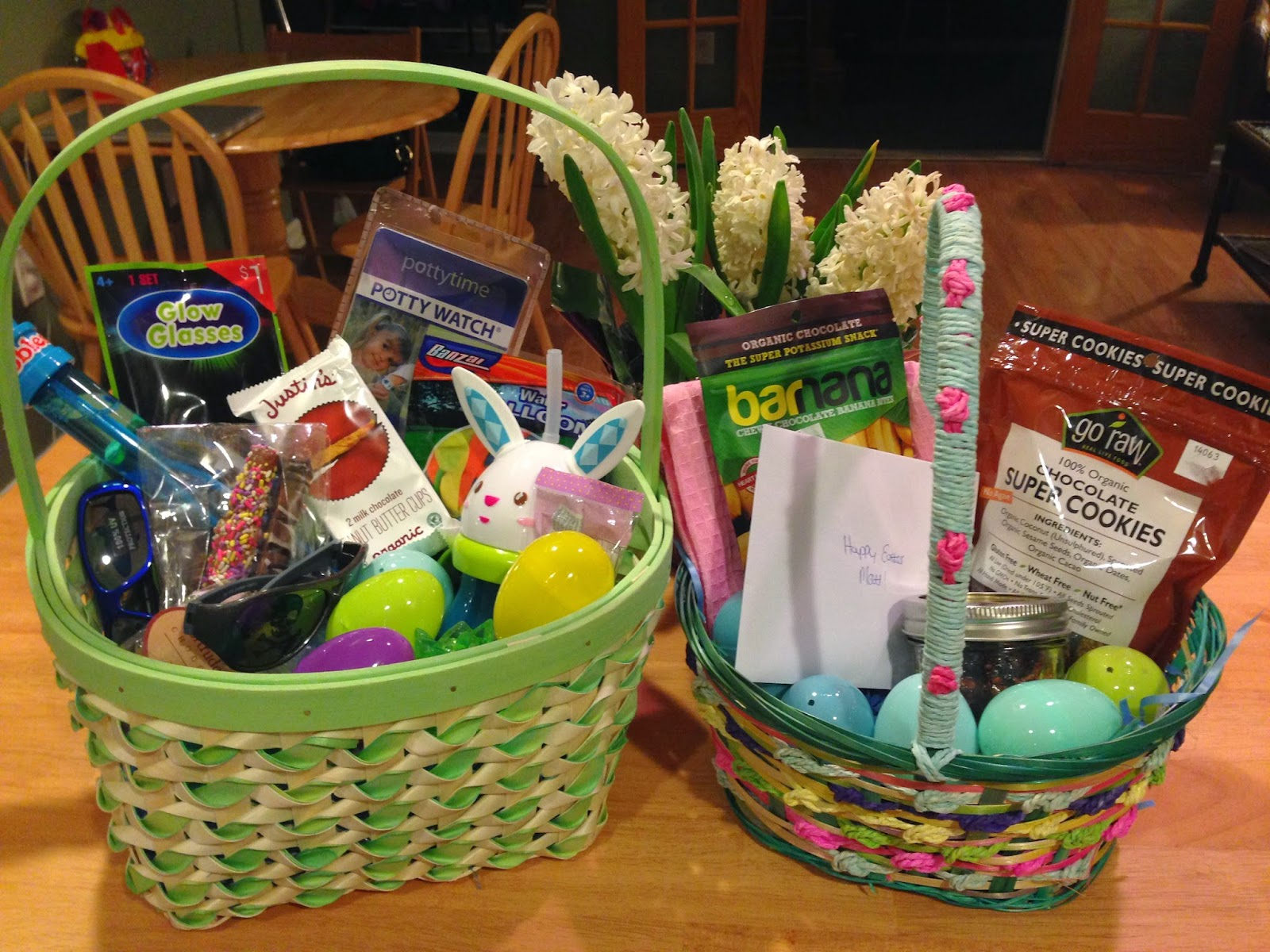 Some sugar added healthy easter baskets healthy easter baskets negle Image collections