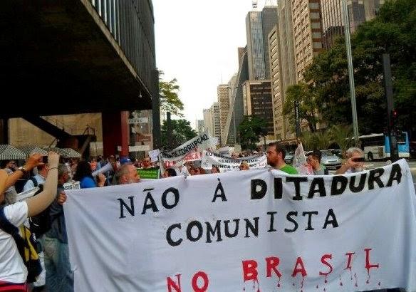 NÃO QUEREMOS O COMUNISMO BOLIVARIANO!
