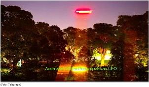 Australia: Video Penampakkan UFO