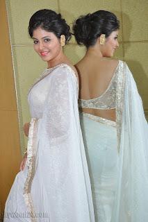 Anjali latest Glamorous pics in saree 042