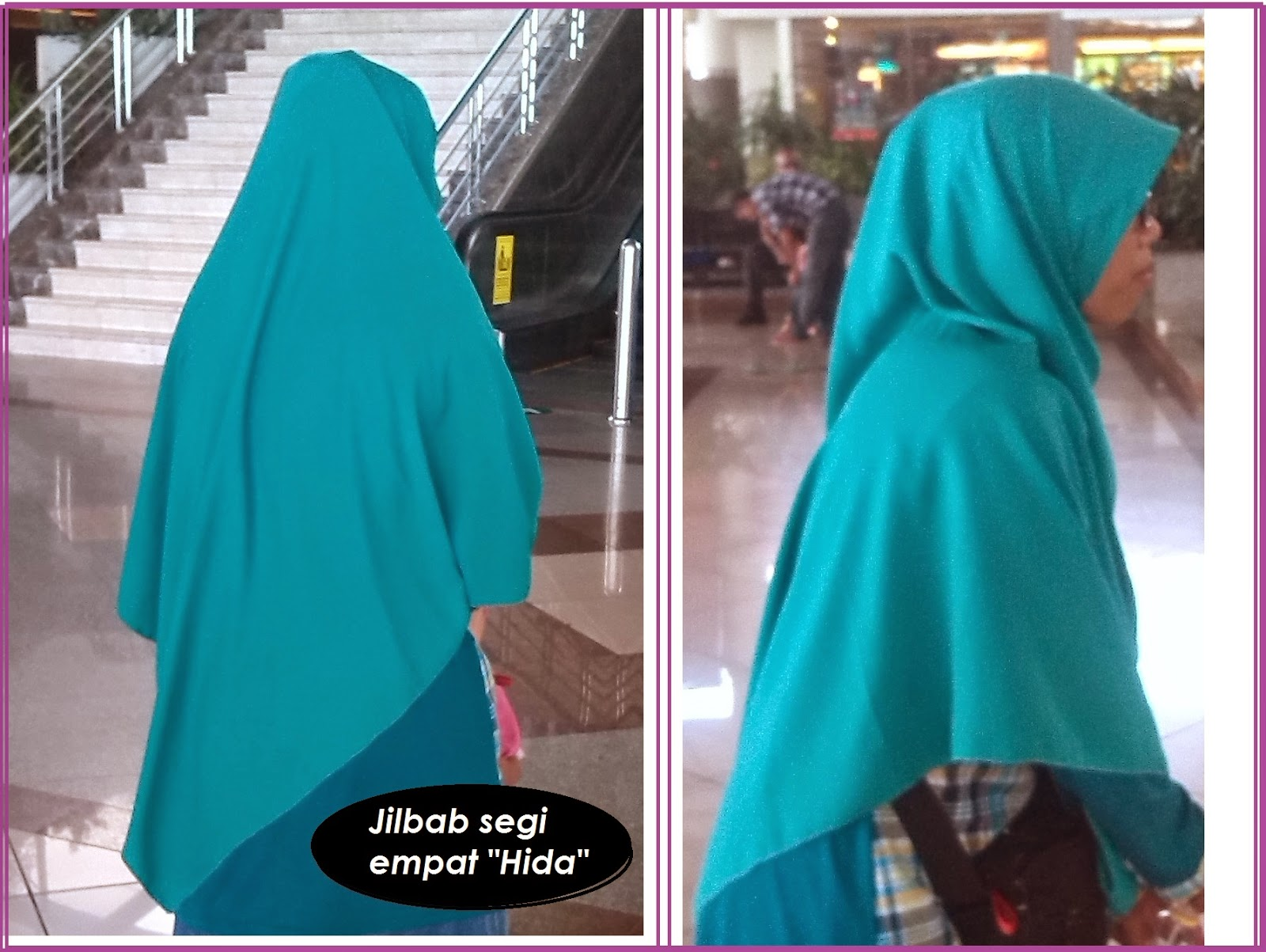 20 Tutorial Jilbab Segi Empat Syar I Tutorial Hijab Terbaru