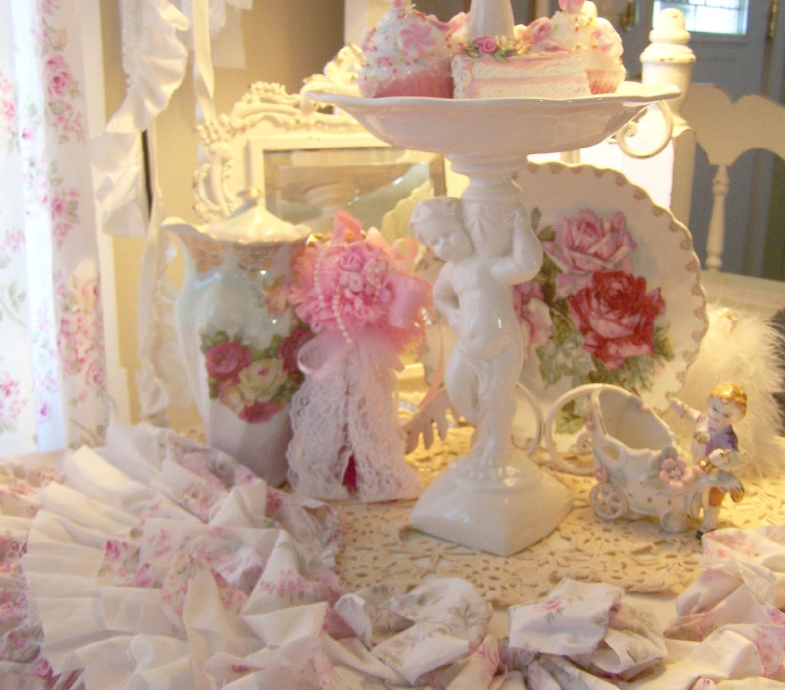 Olivia s romantic home shabby chic living room - Olivia S Romantic Home Romantic Ruffles