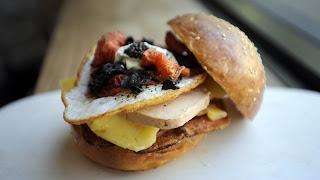 $120 egg sandwich