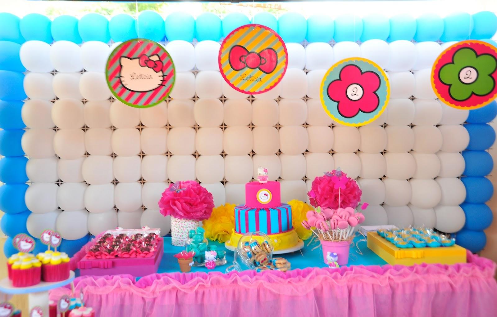 Festa Hello Kitty Decorao De Festa Infantil Hello Kitty ...