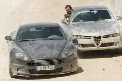 James Bond Aston Martin DBS 50