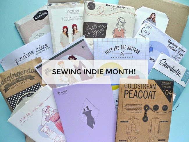 Tilly and the Buttons: It\'s Sewing Indie Month!