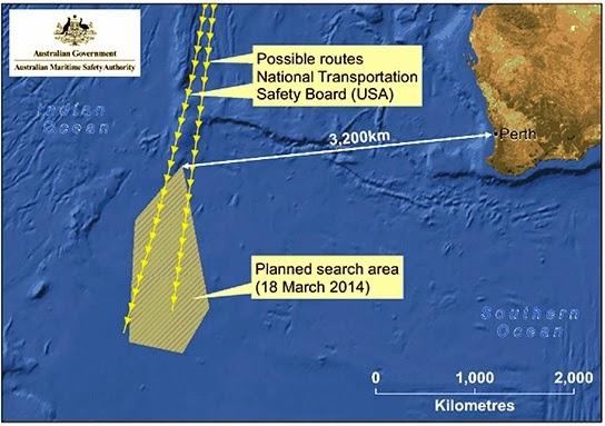 AMSA Gagal Mencari Objek Berukuran 24 Meter Yang Ditemui Satelit Australia